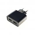 Зарядное устройство SmartBuy NOVA 220V-> USBx2