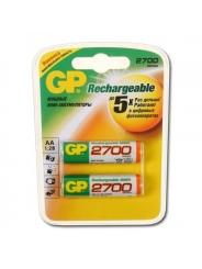Аккумуляторы GP AA 2700mAh/2BL