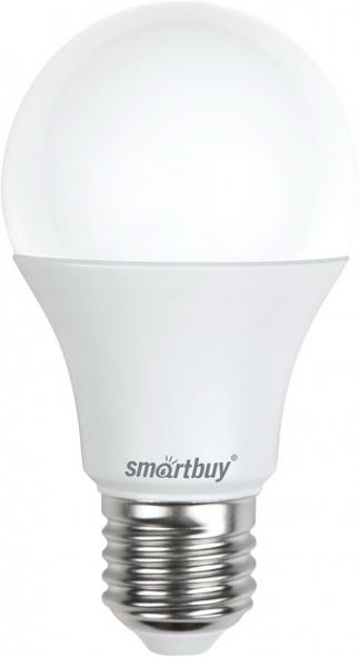Лампа светодиодная SMART BUY A60-11W-220V-4000K-E27 (диммер, белый свет)