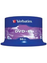 Verbatim DVD+R диски 4,7GB 16X Cake/50