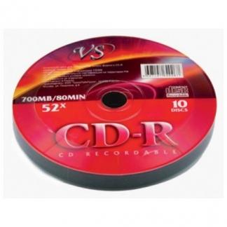 Диски VS CD-R 80 52x Shrink/10