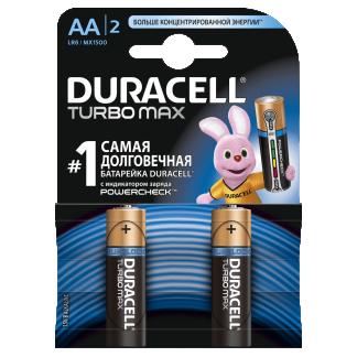 Батарейки Duracell LR6/2BL TURBOMAX