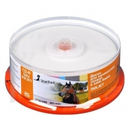 Диск CD-R SmartTrack 700Mb 52x Printable cake 25