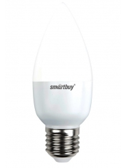 Лампа светодиодная SMART BUY C37-5W-220V-4000K-E27