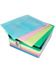 Конверт для 2 CD дисков с перфорацией, 5 цветов