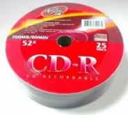 Диски VS CD-R 80 52x Shrink/25