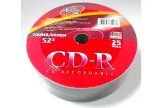 Диски VS CD-R 80 52x Shrink/25