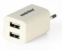 Зарядное устройство SmartBuy TRAVELER 220V-> USBx2