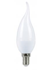 Лампа светодиодная SMART BUY C37-5W-220V-3000K-E14