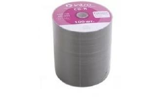 Intro CD-R диск 700mb 52x Bulk/100