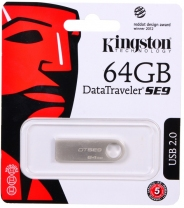 USB 64Gb Kingston DTSE9 металл