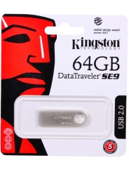 USB 64Gb Kingston DTSE9 металл