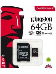KINGSTON MICROSDXC 64GB (CLASS 10)
