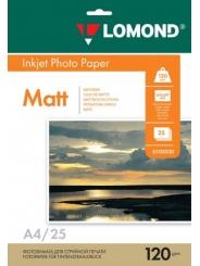Фотобумага LOMOND A4 120 г/м2 матовая 100 листов