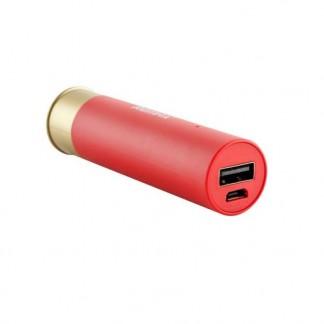 Аккумулятор портативный «Power bank» REMAX Shell (патрон), 2500 mAh