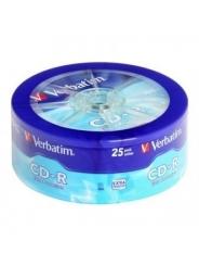 Verbatim CD-R диски 700MB 52X Shrink/25