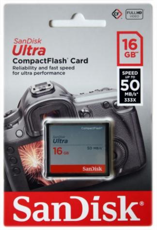 CF SanDisk Ultra 16GB 50MB/s
