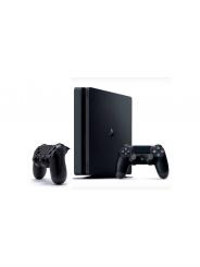 PlayStation 4 Slim 1Tb игровая приставка и 2 джойстика.