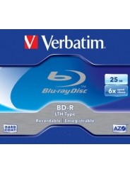 Verbatim BD-R Data life 25 Gb 6X CB/50 WHITE INKJET printable