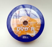 Verbatim DVD-R 4,7GB 16X Shrink/25