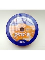 Verbatim DVD-R 4,7GB 16X Shrink/25