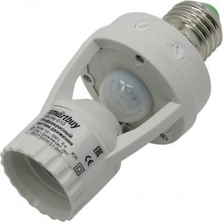 Инфракрасный (ИК) датчик движения в патрон E27 60Вт, 360°