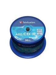Verbatim CD-R ДИСКИ 700MB 52X CB/50 AZO