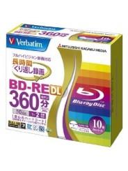 Blu ray диск VERBATIM BD-RE DL 50 GB 2X Slim case