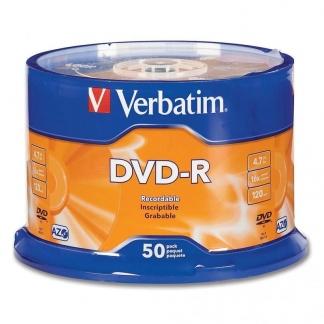 Verbatim DVD-R диски 4,7GB 16X CB/50