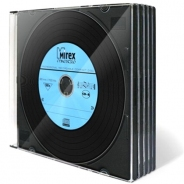 Mirex диски CD-R Maestro Vinyl 700MB 52X Slim/5