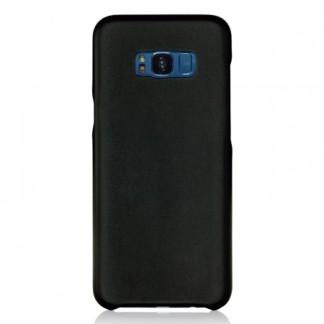 Клип-кейс для Samsung S8, TPU шероховатый черный, Perfeo