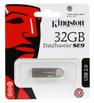 USB 32GB Kingston DTSE9 металл