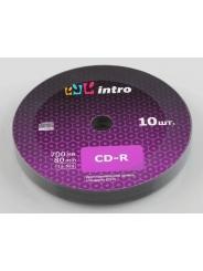 Intro CD-R диск 700mb 52x Shrink/10