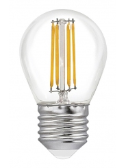 Лампа светодиодная SMART BUY G45-5W-220V-3000K-E27 FIL