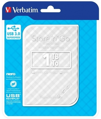 VERBATIM 2.5 HDD 1 TB USB 3.0 STORE'N'GO