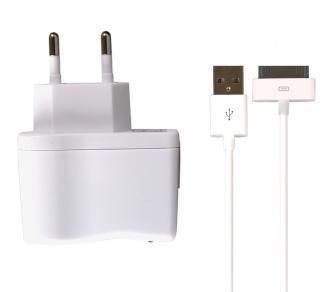 Зарядное устройство SmartBuy ONE + кабель iPhone 8pin