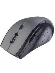 "Perfeo мышь беспров., оптич. ""DAILY"", 6 кн, DPI 800-1600, USB, серый металлик"