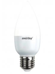 Лампа светодиодная SMART BUY C37-5W-220V-3000K-E27