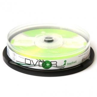 Диски Smart track DVD+R 4,7GB 16X Cake/10