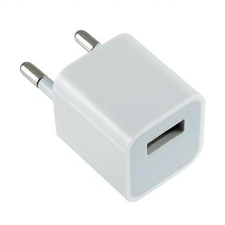 Сетевое зарядное устройство с разъемом USB, 1А