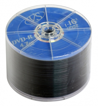 Диски VS DVD-R 4,7GB 16X BULK/50