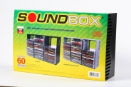 ПОДСТАВКА ДЛЯ CD ДИСКОВ SOUNDBOX CD-60 ND ЦВЕТ ЧЕРНЫЙ