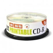 CD-R Mirex 700Mb 48x Printable cake 25 (UL120038A8M)
