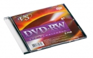 ДИСК VS DVD-RW 4,7GB 4X SLIM BOX