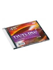 ДИСК VS DVD-RW 4,7GB 4X SLIM BOX