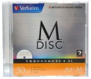 M-Disc Verbatim BD-R XL 50 GB 6x Ink Printable Slim case