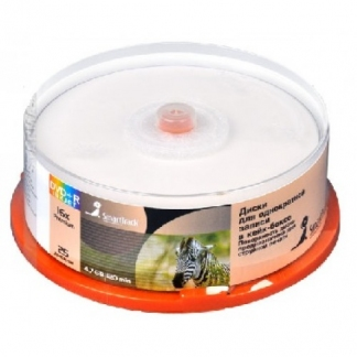 Диск DVD+R SmartTrack 4,7Gb 16x Printable cake 25