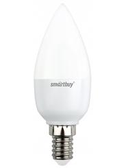 Лампа светодиодная SMART BUY C37-8,5W-220V-3000K-E14