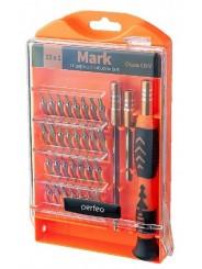 Perfeo отвертка Mark с набором бит