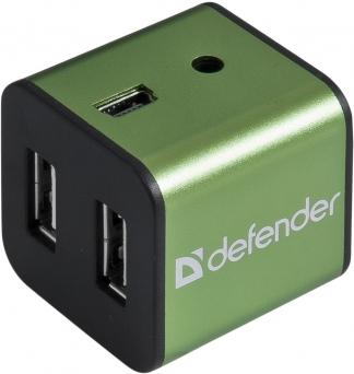 4-портовый разветвитель USB 2.0 Defender Quadro Iron